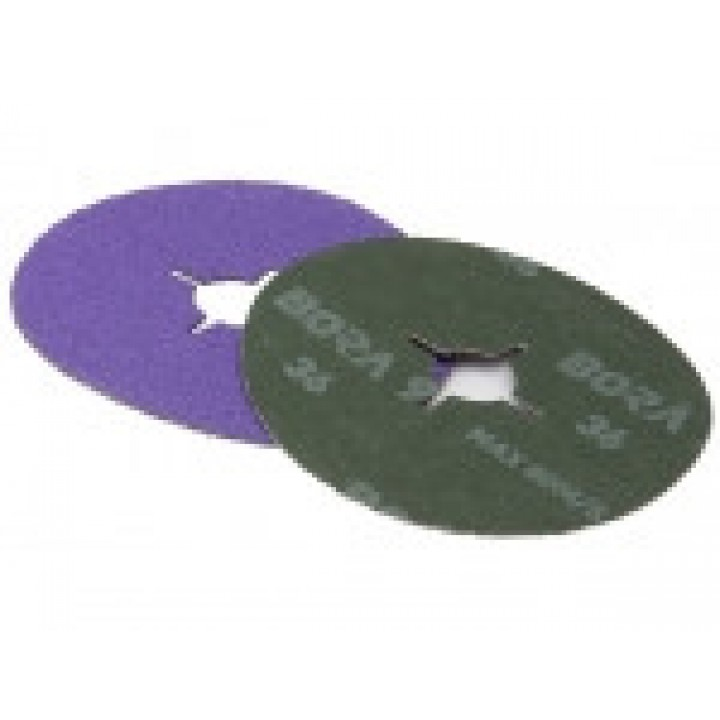 Фибровый круг Bora 9 d125мм, зерно Р80