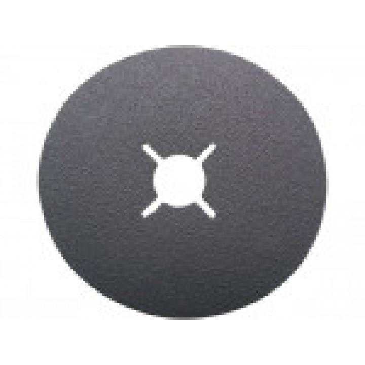 Фибровый круг диаметр 125мм, зерно P80