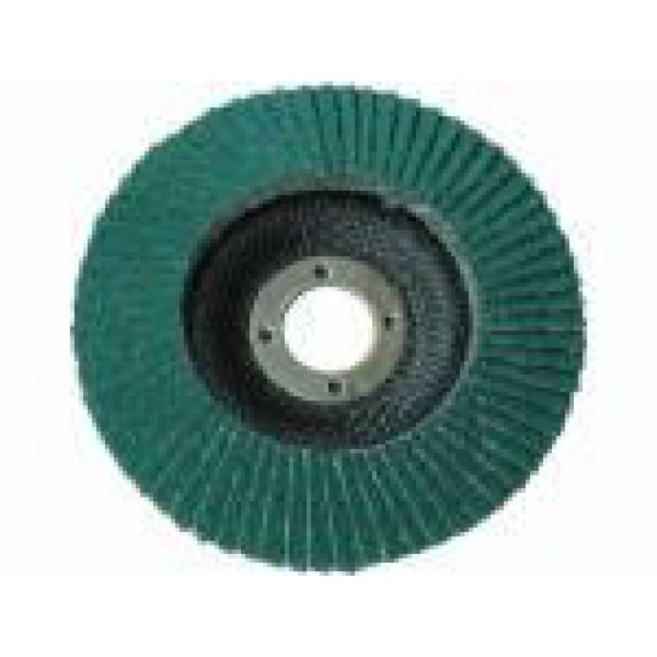 Круг лепестковый торцевой DEERFOS KZ563 d125, зерно Р40