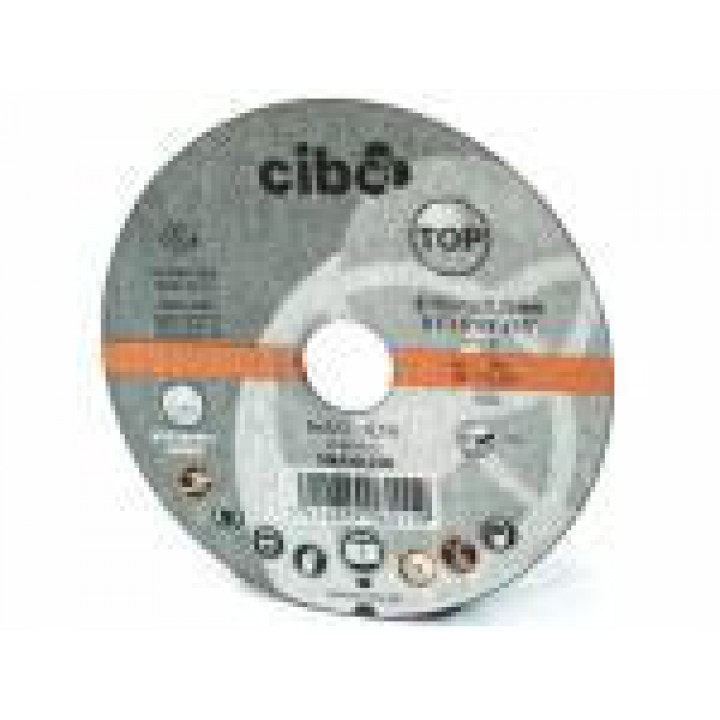 Отрезной круг по алюминию Cibo 125x1x22,2
