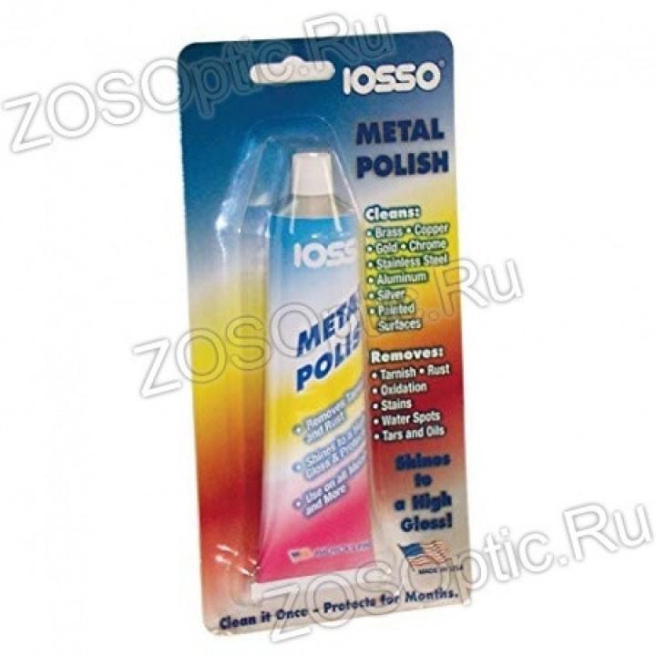 Паста для полировки и чистки металла IOSSO Metal Polish (85гр)