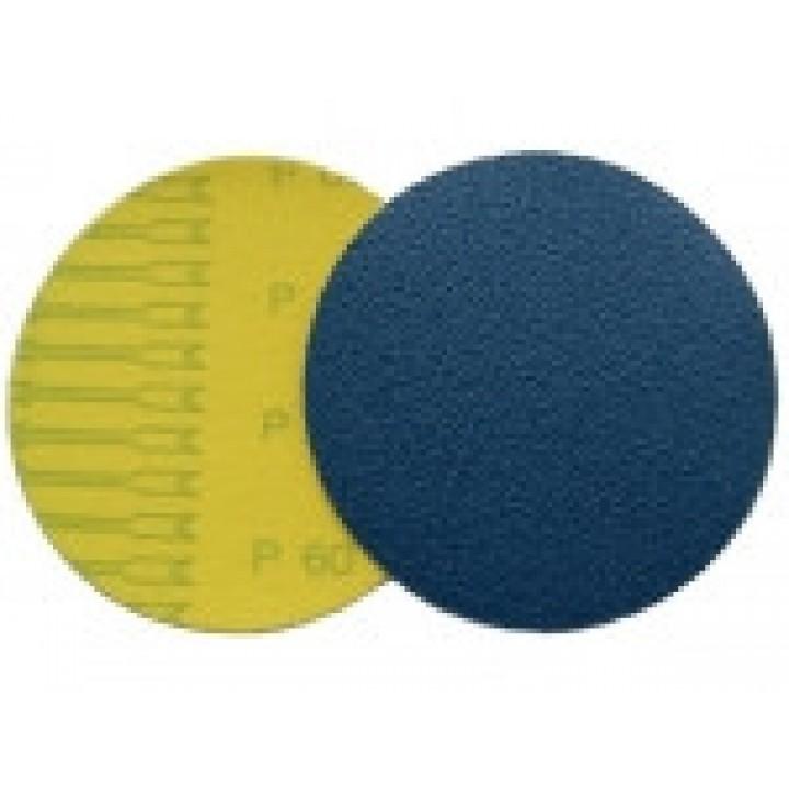 Шлифовальные круги Velcro ZK (цирконий) d125, зерно P60