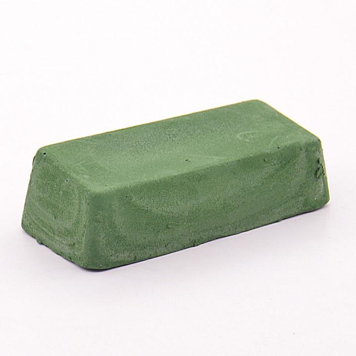 Паста Гои зеленая №3 (средняя шлифовка), брусок 1 кг