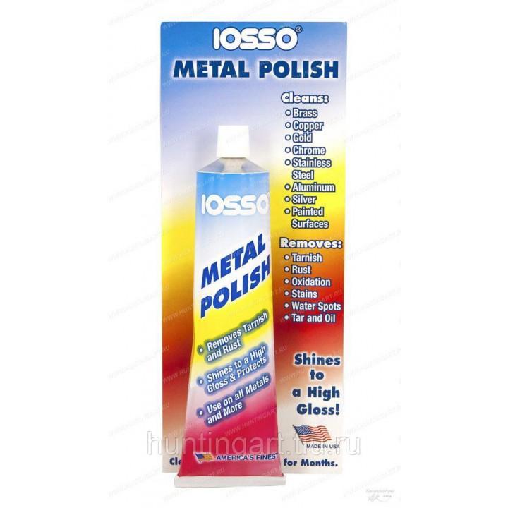 Паста полировочная Iosso Metal Polish (10333), 85 гр