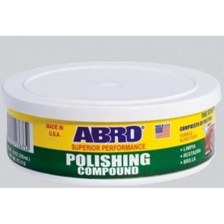 """Полировочная паста """"ABRO"""" Для востоновления блеска и удаления окислов и царапин 295мл"""