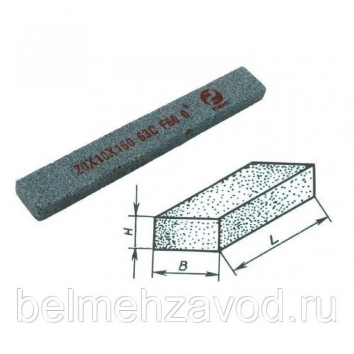 Брусок шлифовальный 20х13х150 63C 25 СТ1 (GC F60 O)