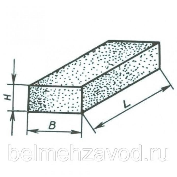 Брусок шлифовальный 40х20х200 63С 25 СТ (GC F60 O-P B) (бакелитовый)
