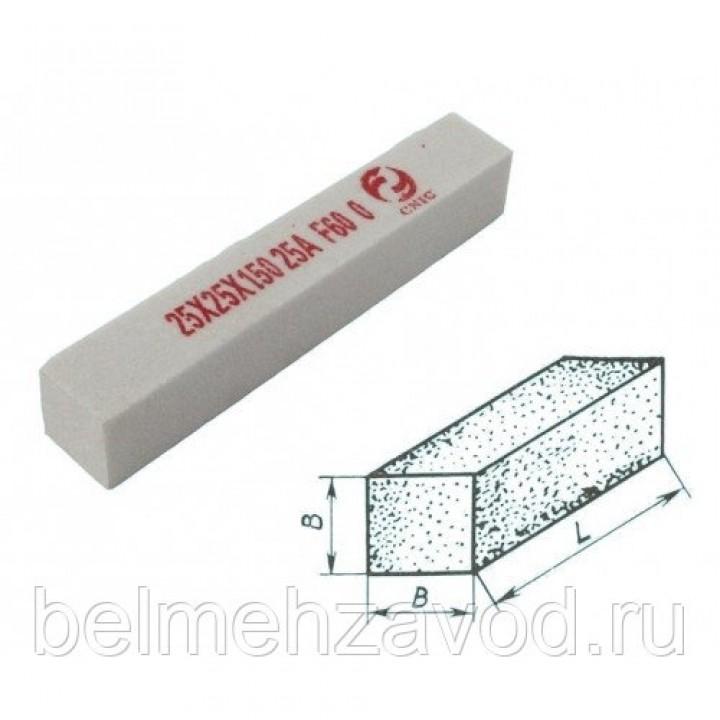Брусок шлифовальный 6х 6х100 25А 25 СТ1 (WA F60 O)