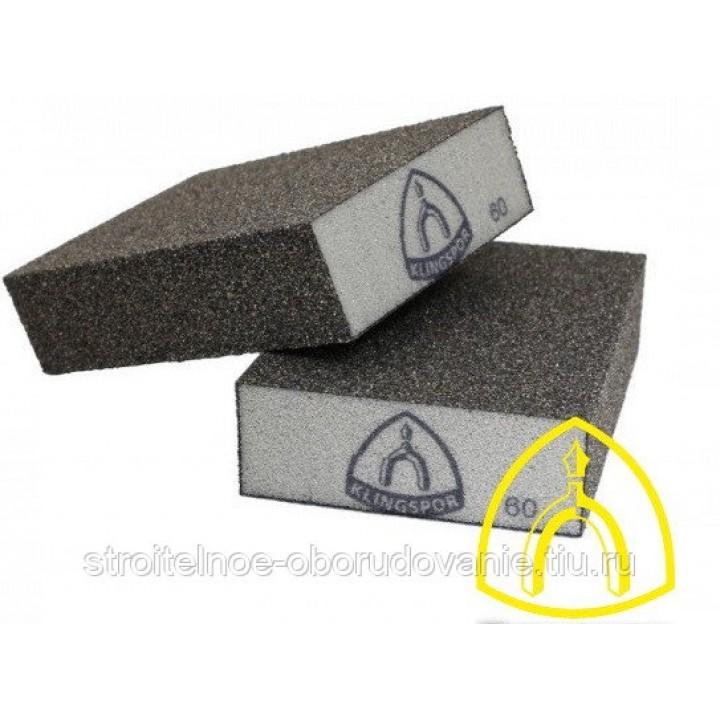 Р180 Абразивный четырехсторонний шлифовальный блок SK 500 98X68X25мм арт.271073