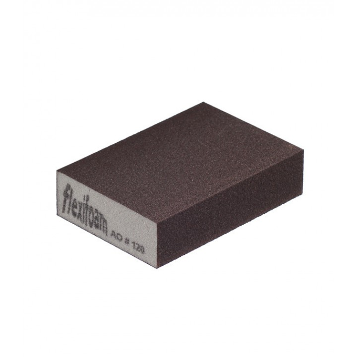Шлифовальный брусок Flexifoam 98х69х26 мм Р120