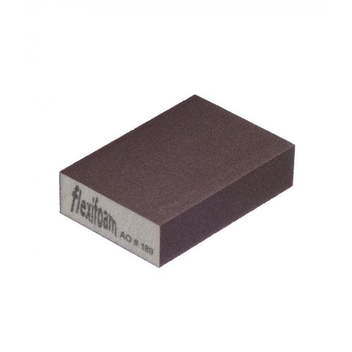 Шлифовальный брусок Flexifoam 98х69х26 мм Р180