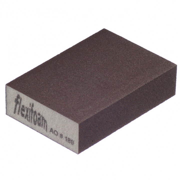 Шлифовальный брусок Flexifoam 98х69х26 мм Р220