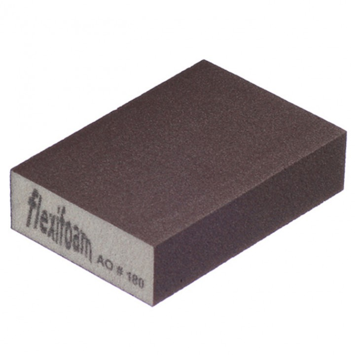 Шлифовальный брусок Flexifoam 98х69х26 мм Р60