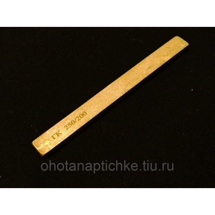 Брусок алмазный ГК 250/200, 125х12х5 мм