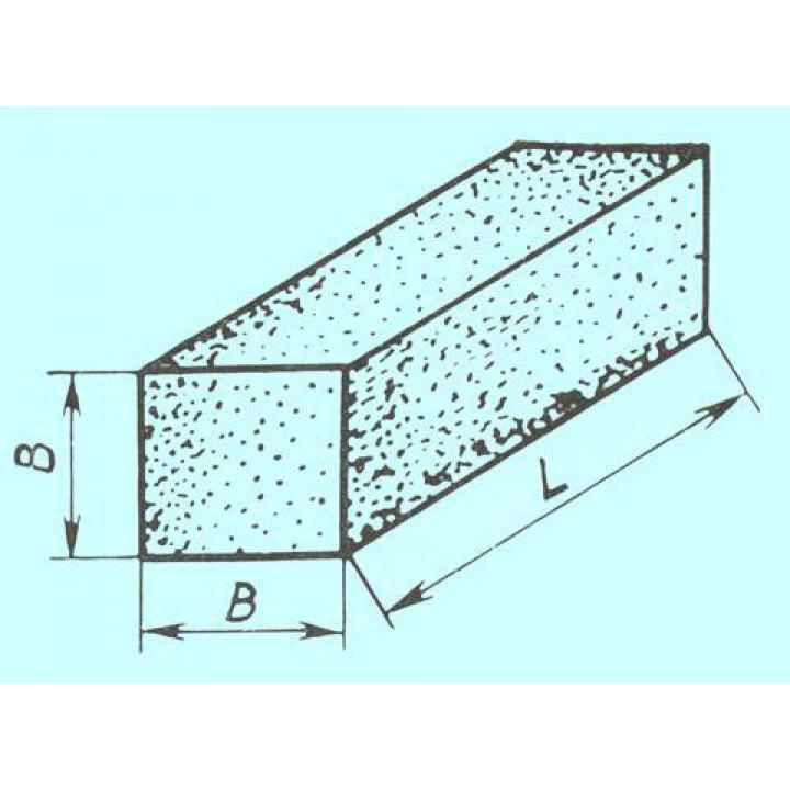 Брусок шлифовальный 10х10х150 25А М28П СМ