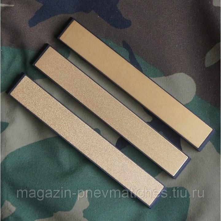 Набор алмазных брусков для заточки ножей Gold