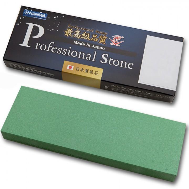 Абразивный точильный камень для заточки NANIWA Professional 400 grit (210x70x20 мм)