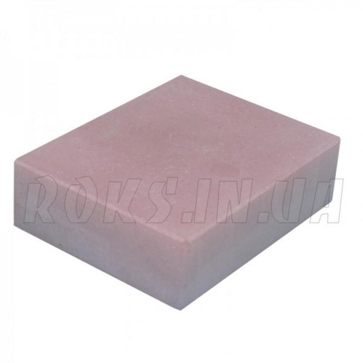 Абразивный точильный камень для заточки NANIWA Professional Stone обрез., 70х55-57х20мм 3000 grit (малиновый)