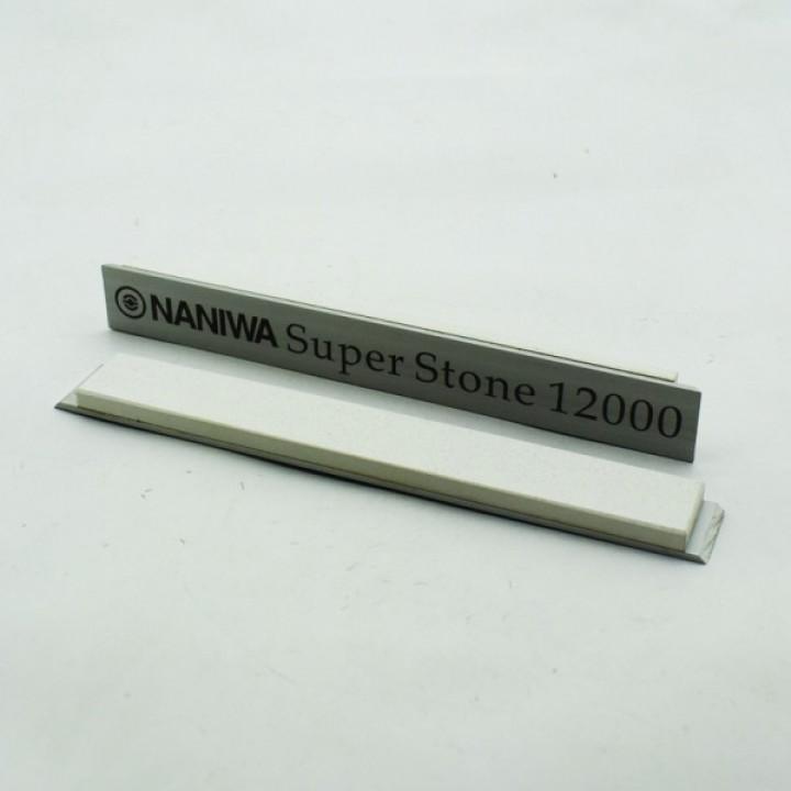 Абразивный точильный камень для заточки NANIWA Sarptning Stone 150х20х5мм, на бланке 12000 grit