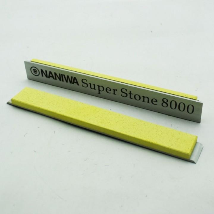 Абразивный точильный камень для заточки NANIWA Sarptning Stone 150х20х5мм, на бланке 8000 grit