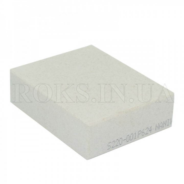 Абразивный точильный камень для заточки NANIWA Sarptning Stone 220 grit, 70х55-57х20мм