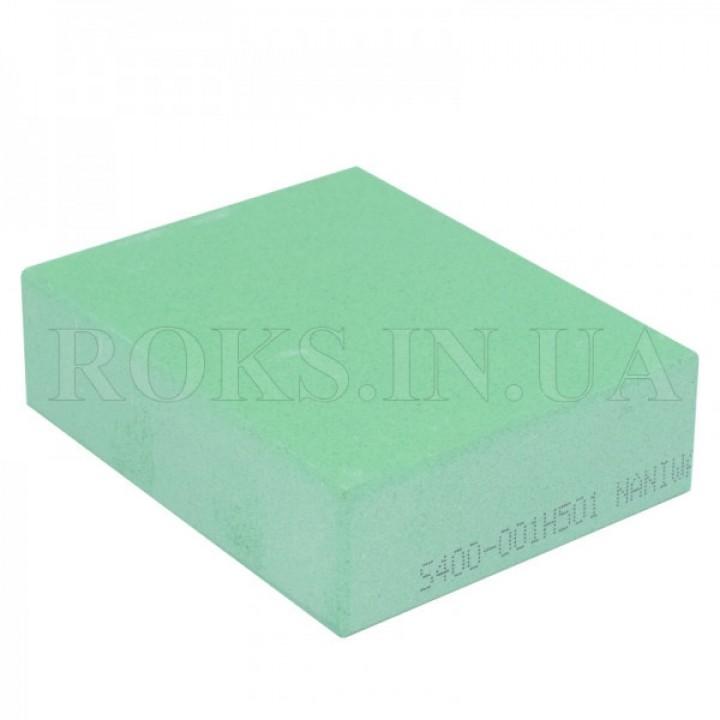 Абразивный точильный камень для заточки NANIWA Sarptning Stone 400 grit, 70х55-57х20мм