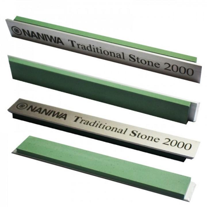 Абразивный точильный камень для заточки NANIWATraditional Stone на бланке 150х20х5мм, 2000 grit