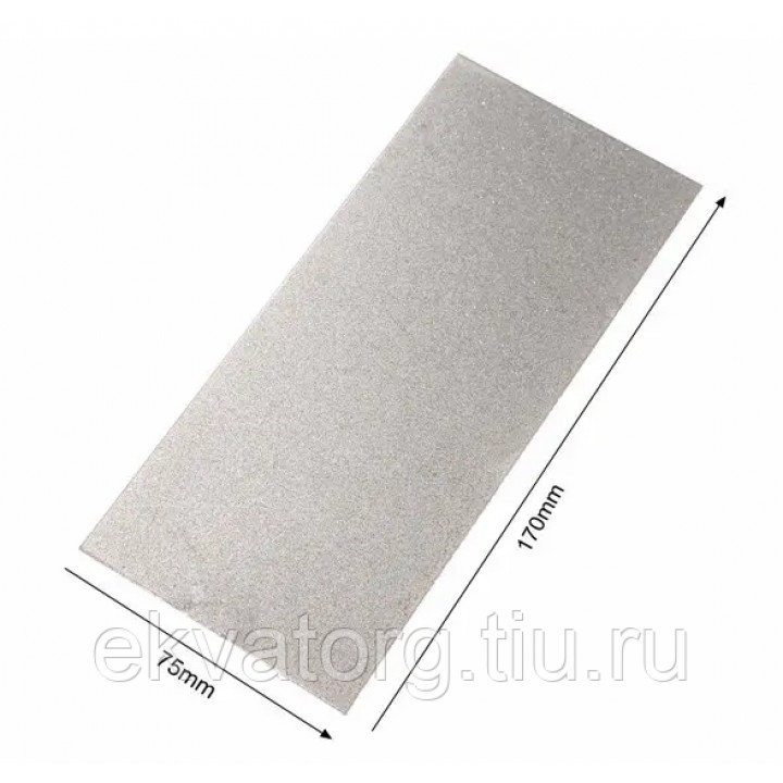 Алмазная точильная пластина #320 грит 170х75х1 мм