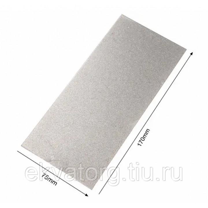 Алмазная точильная пластина #80 грит 170х75х1 мм