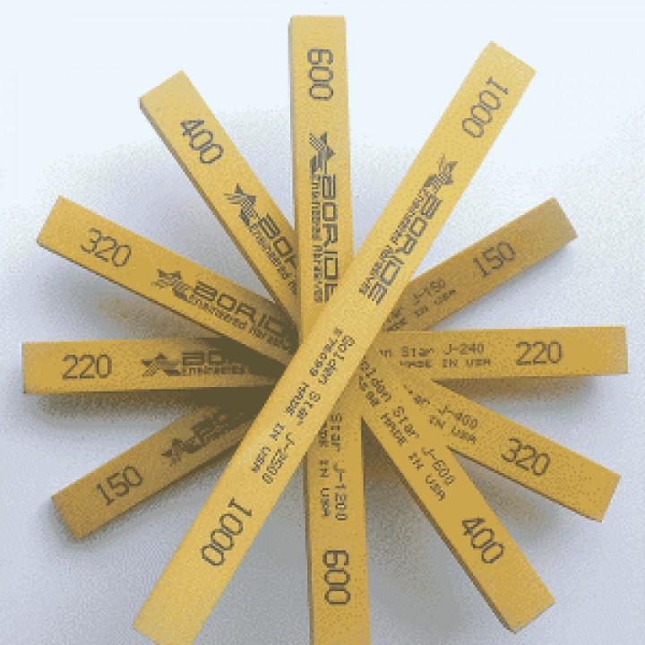 Точильный камень Boride Golden Star 400 grit 150 x 12 x 6 мм