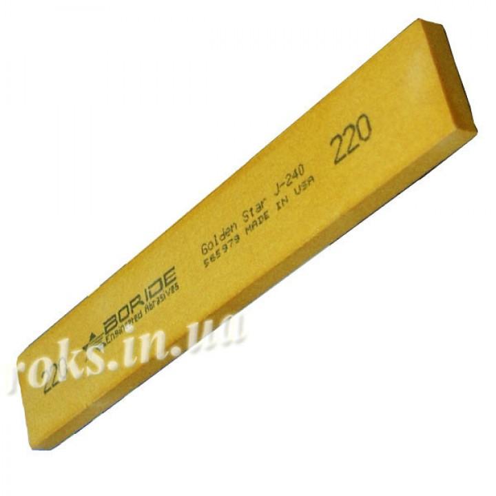 Точильный камень Boride, серия Golden Star 220 grit 150 x 25 x 6 мм