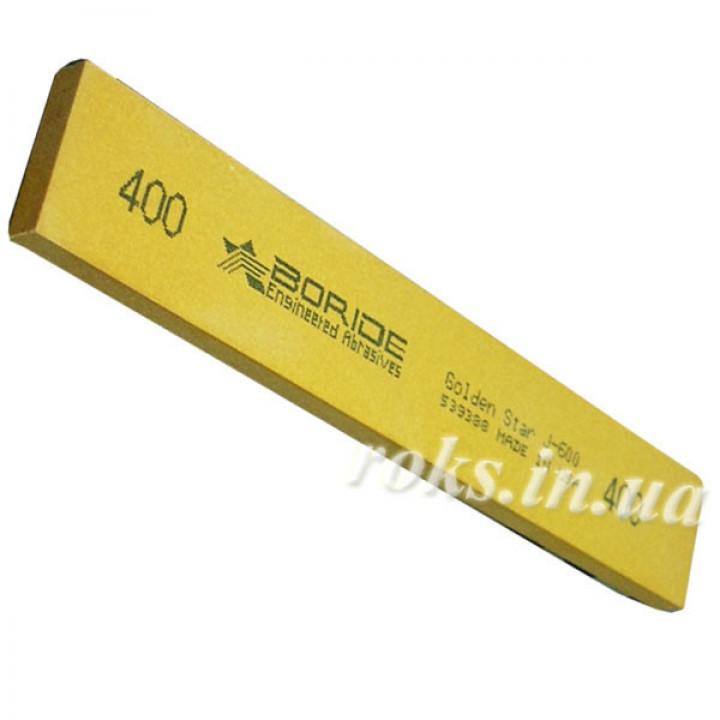 Точильный камень Boride, серия Golden Star 400 grit 150 x 25 x 6 мм