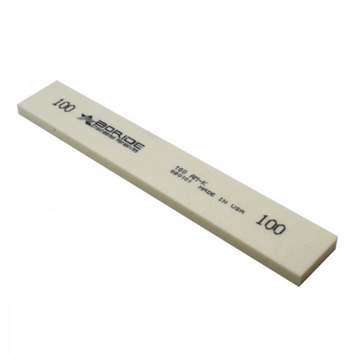 Точильный камень Boride широкий серии AM-K, 154х25х6 мм, 100 грит