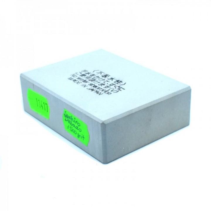 Точильный японский камень Suehiro Debado 1500 грит 72x55х21мм обрез