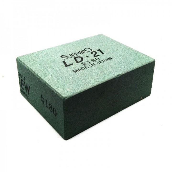 Точильный японский камень Suehiro Debado 180 грит 74x57х30мм обрез